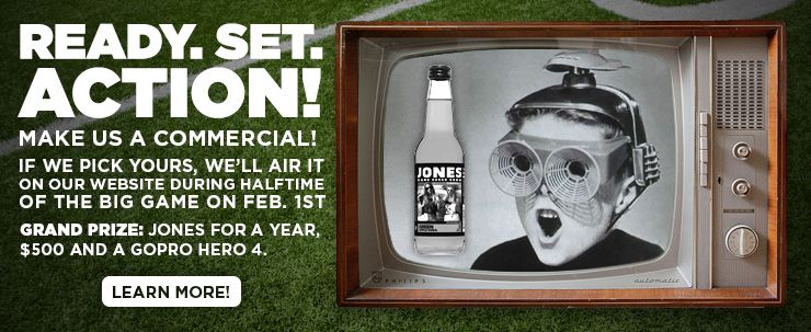 Win a gift package with $500 cash from Jones soda!