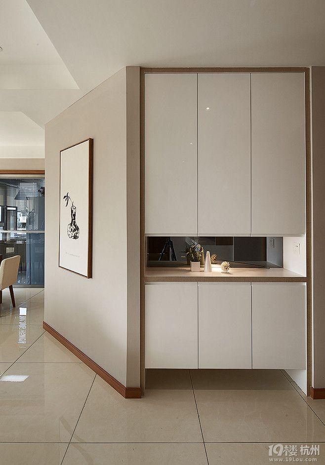 Entrance Cabinet Mirror Minimalist In 2019 Shoe Cabinet Design Hallway Cabinet Foyer Design