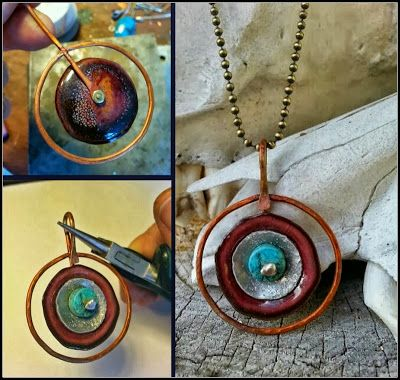 Love My Art Jewelry: Hoop Boot Camp: Filling the Void - By Karen McGovern