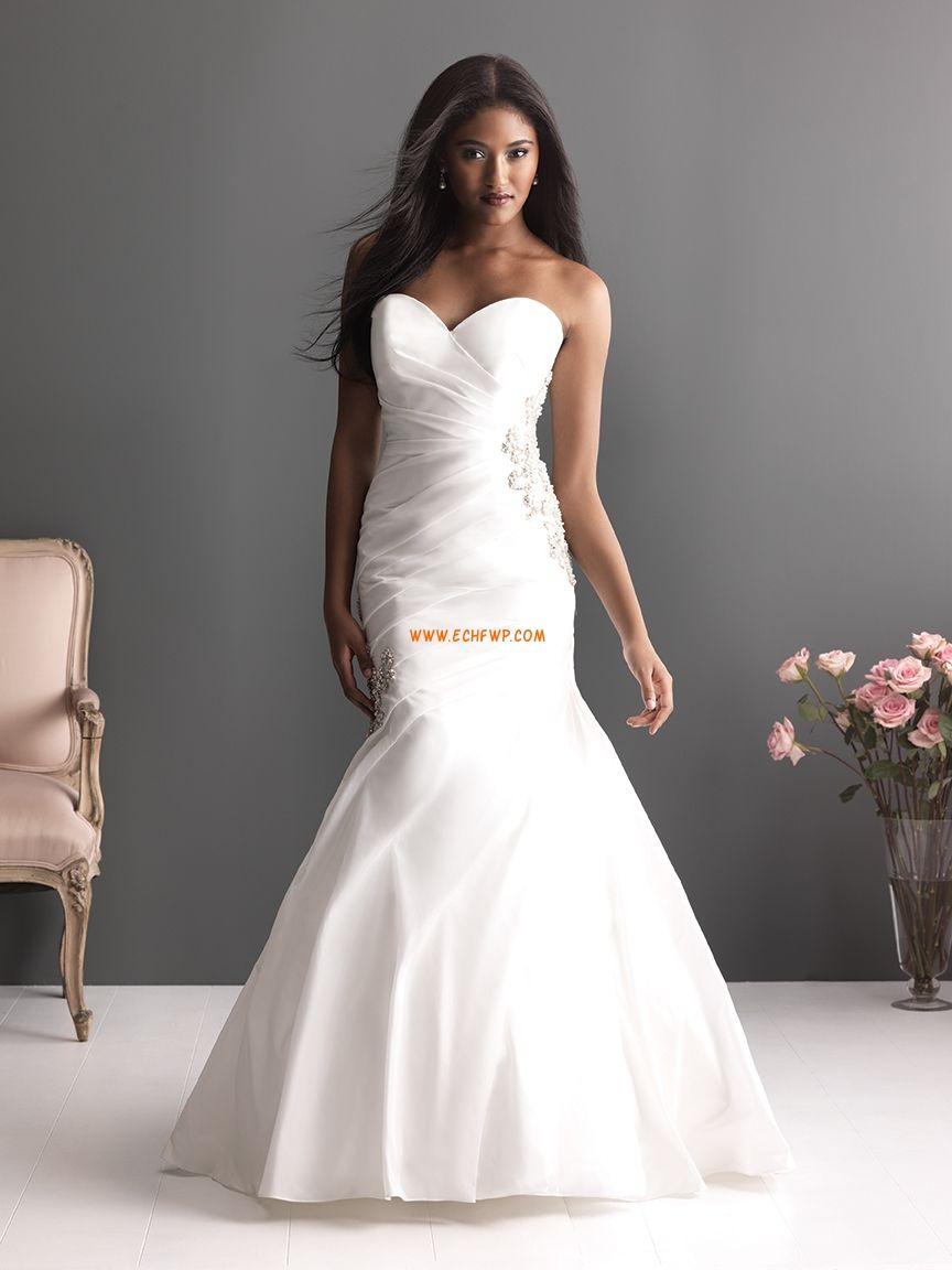 Halter style wedding dresses  Kirke Banetog Sateng Bryllupskjoler   brudekjoler