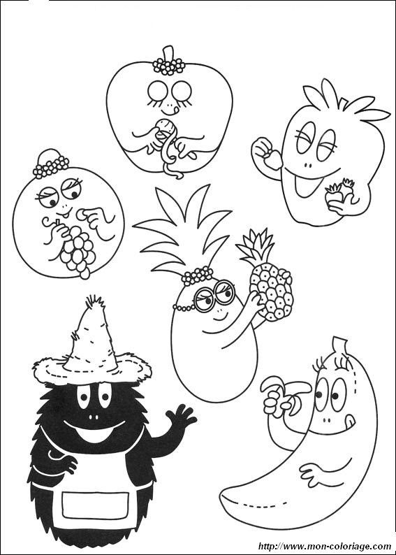 Barbapapa dessins garderie coloriage barbapapa coloriage gar on et coloriage - Dessin lampion ...