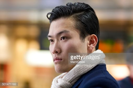 Stock Photo : Young man in the city