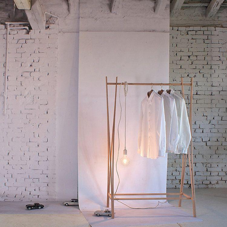 Magazin Garderobe Tra Ra Natur Kleiderstander Kleiderregal Kleiderstange