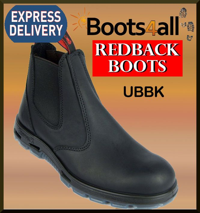 730e840b886 Details about Redback UBBK Mens Work Easy Escape Bobcat Boots Black ...