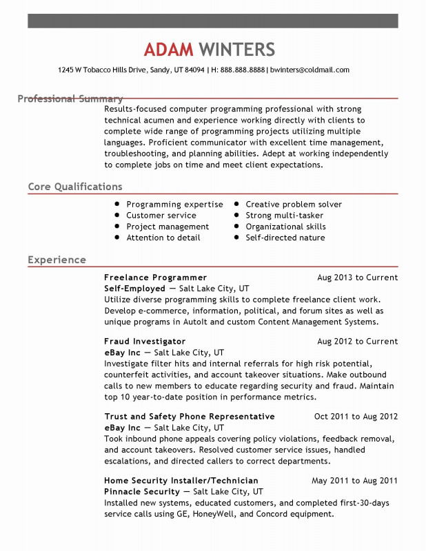 Physical Security Risk Assessment Report Template New Incident Management Resume Examples Unique Collection 15 Awesome