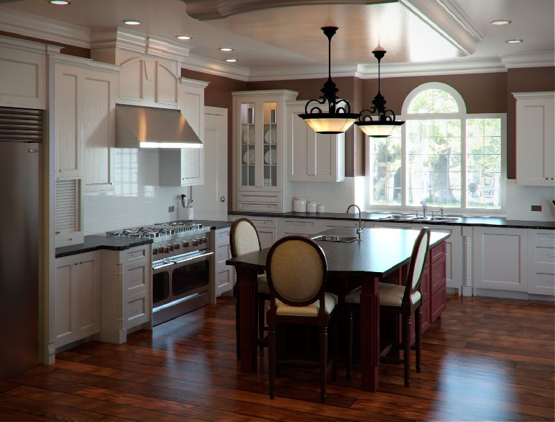 Mediterranean Kitchen By Dd Delectable Colonial The