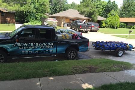Water Extraction Equipment Provided By A Team Carpet Clean