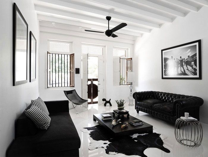 Asian Lifestyle Deco Salon Decoration Salon Blanc Salon Noir