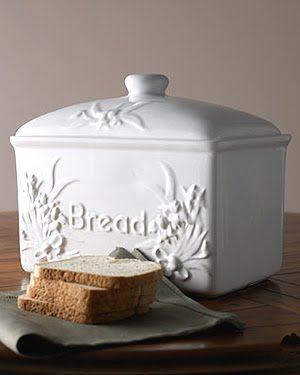 Bread Storage Without Plastic Ceramic Bread Box Bread Storage Bread Container