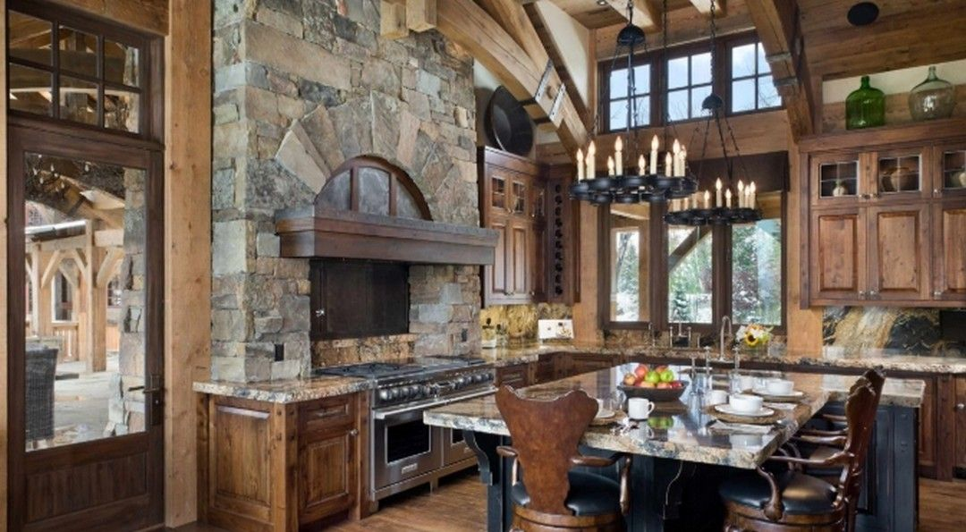 6 Traditional Kitchen Decoration Ideas With Inspiring Natural