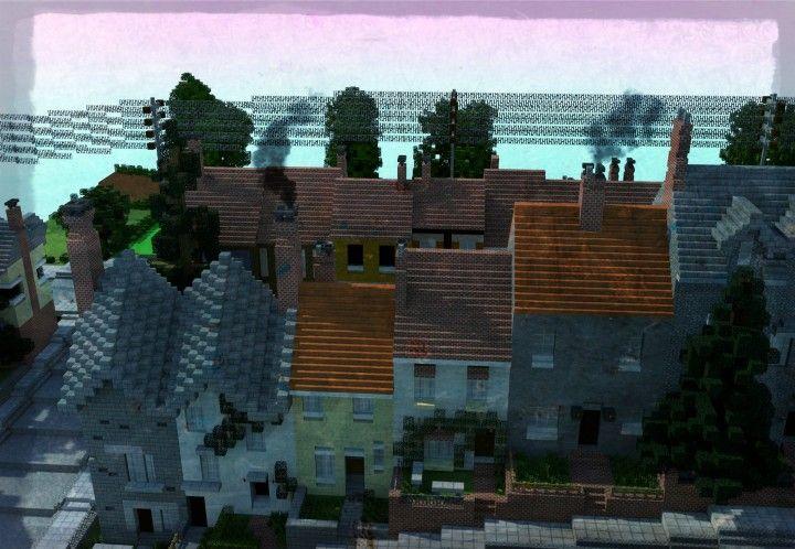 Carville Industrial City 1900 1930 Minecraft Blueprints