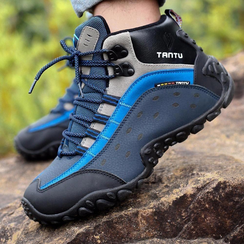 75df8829504 PINSV Hiking Boots Men Sneakers Men Hiking Shoes Trekking Shoes Men ...