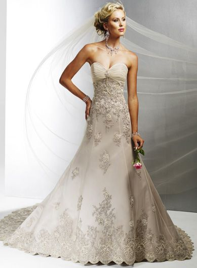 0075628aae6b Alfred Angelo Alfred Angelo 0011 Size 10 Size 6 Wedding Dress ...