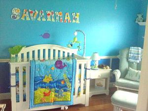 Baby Ocean Theme Nursery Decor With Pictures Of Under The Sea Bedding And Ideas