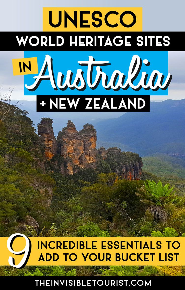 9 incredible unesco sites in australia new zealand essential to