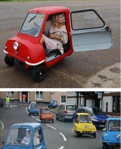 Mini Car Hilarious Where Do The Groceries Go