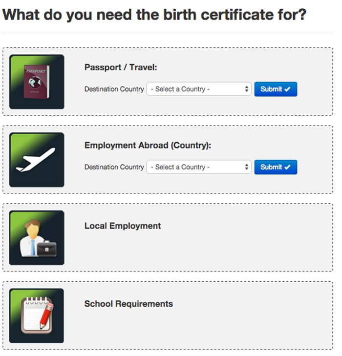 How To Get N So Certificate Online Birth Marriage Death Or