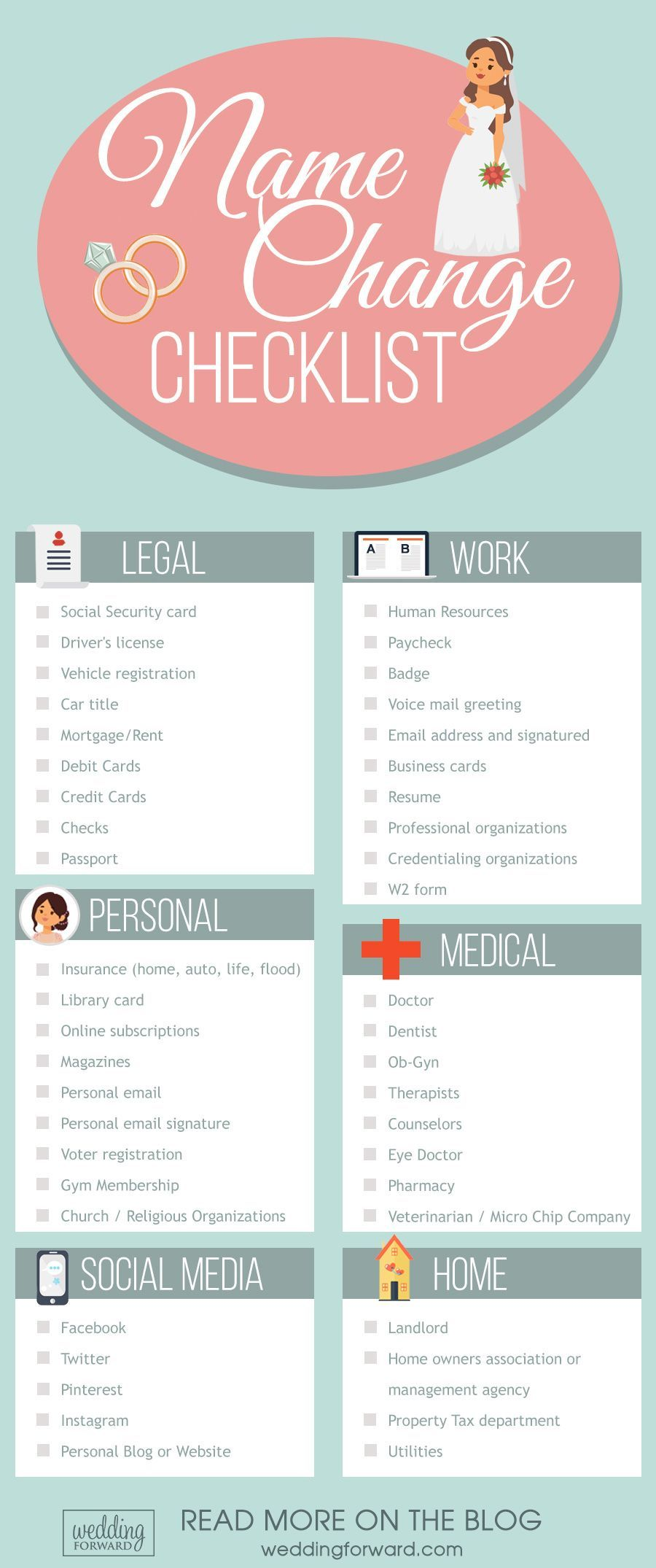 Must Have Wedding Planning Checklists For Every Bride