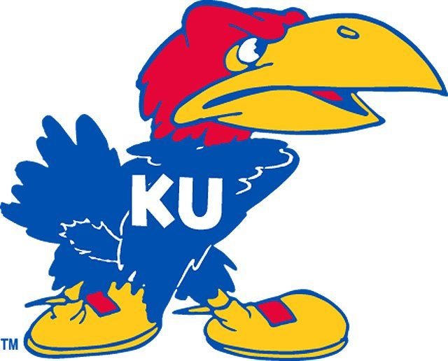 1941 Kansas Jayhawk Mascot Logo We Call This Angry Jayhawk