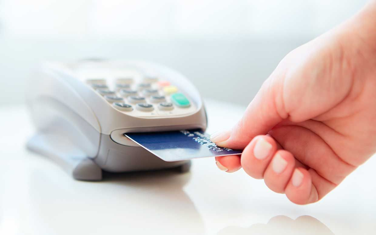 How to shop safely with chip credit cards rewards credit