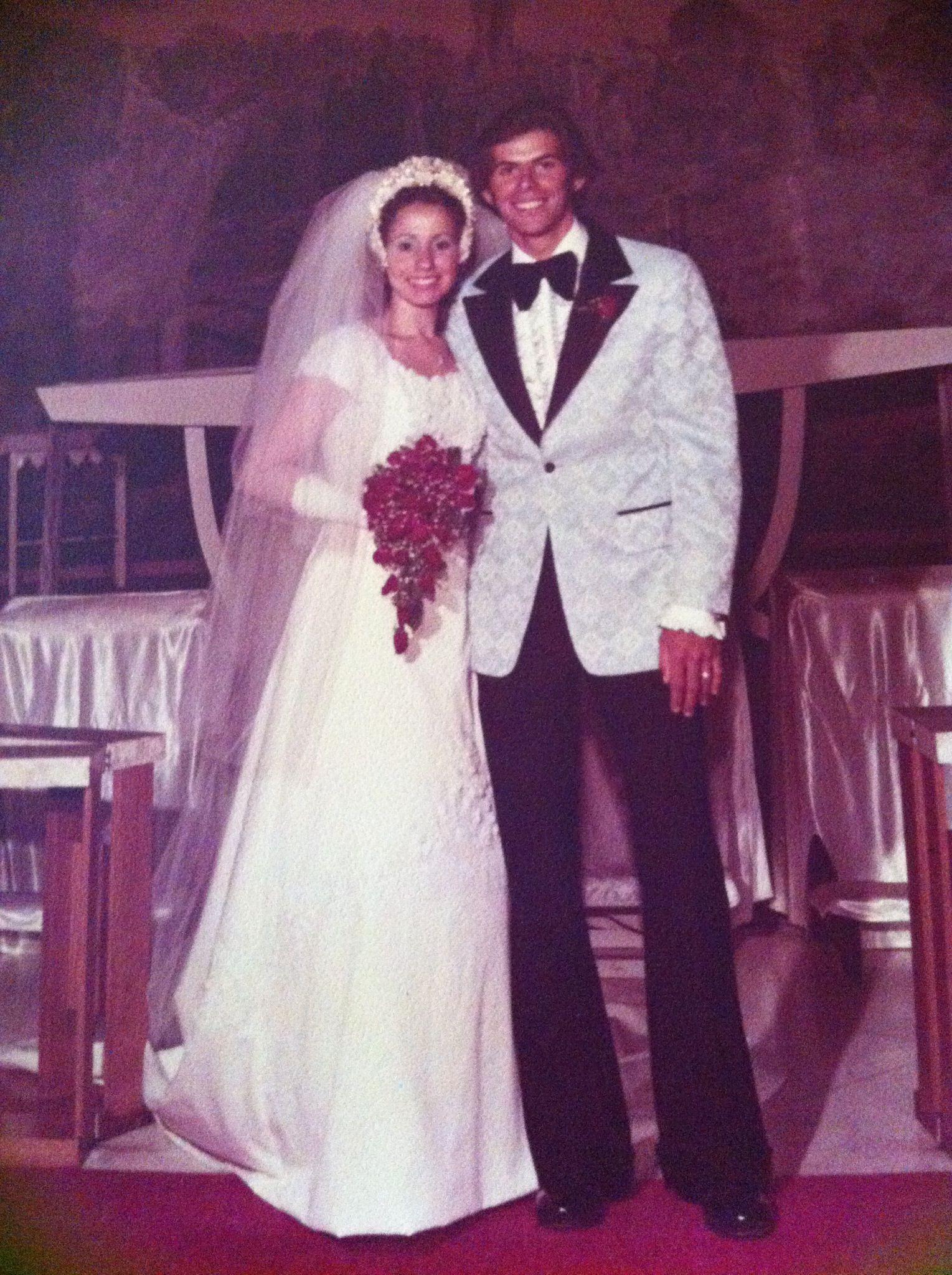 Vintage wedding!! Lol!! Mine!! August 24, 1974 | 1970s WEDDINGS ...
