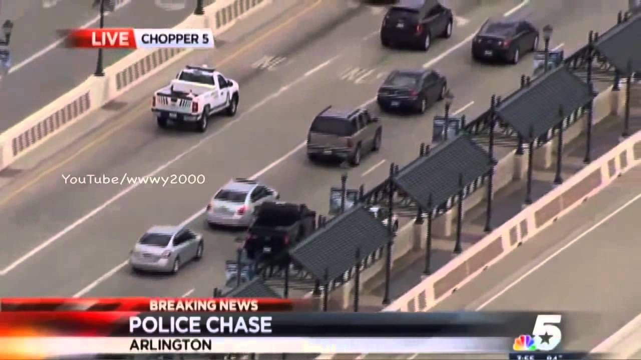 Texas Slow Speed Police Chase Nissan Sentra Huge Crowds Watching Wfaa Nissan Sentra Police Nissan