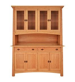 Mission Arts And Crafts Craftsman China Cabinets Buffets Hutches American Made To Order Natural China Cabinet Sideboard Cabinet Craftsman Furniture