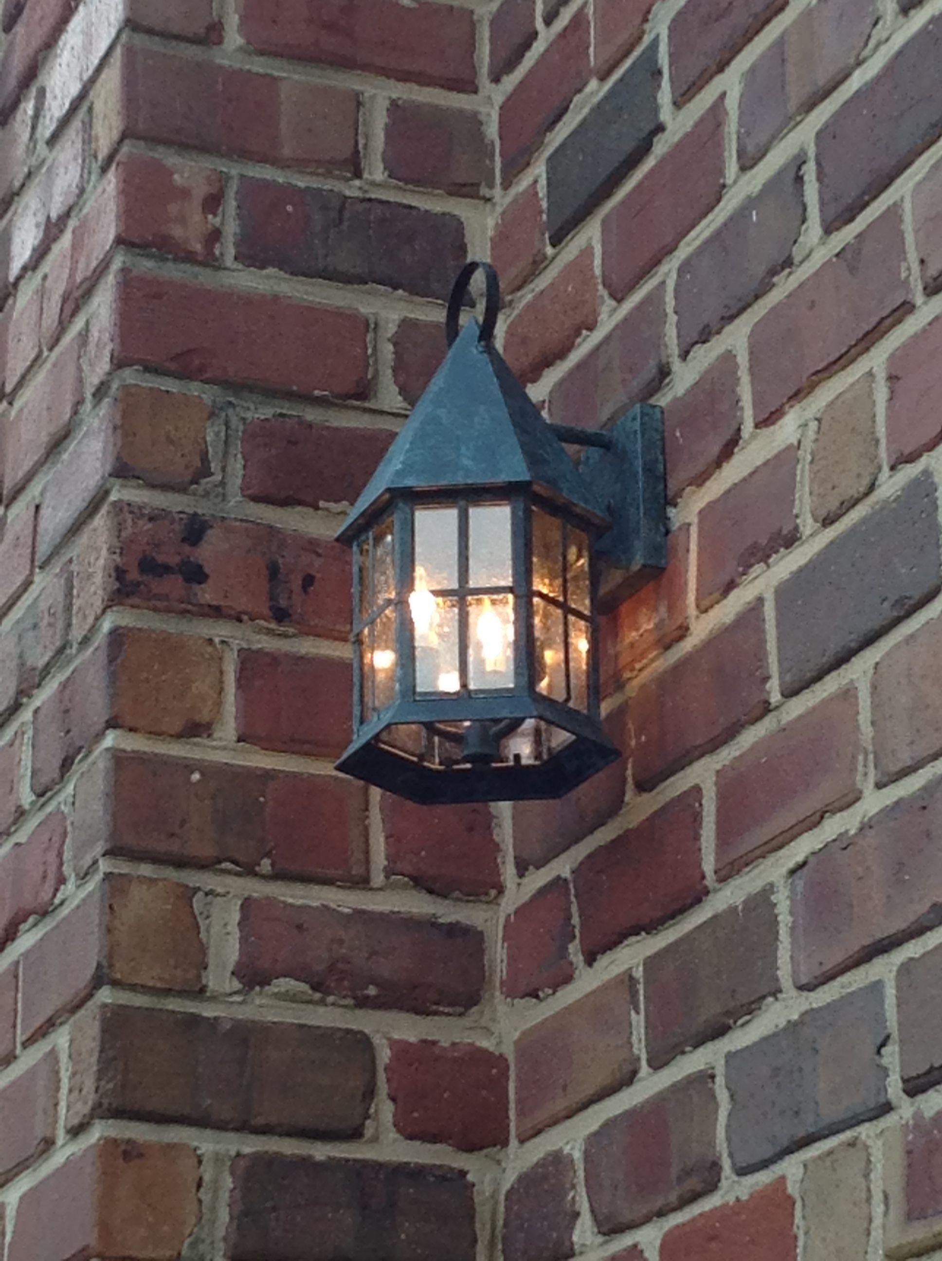 Custom outdoor exterior wall mounted