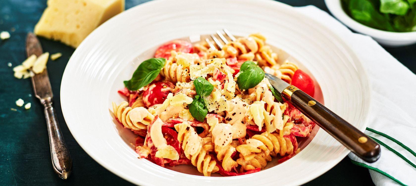 Pasta Italiano Recept Pastarecept Recept Mat Och Dryck
