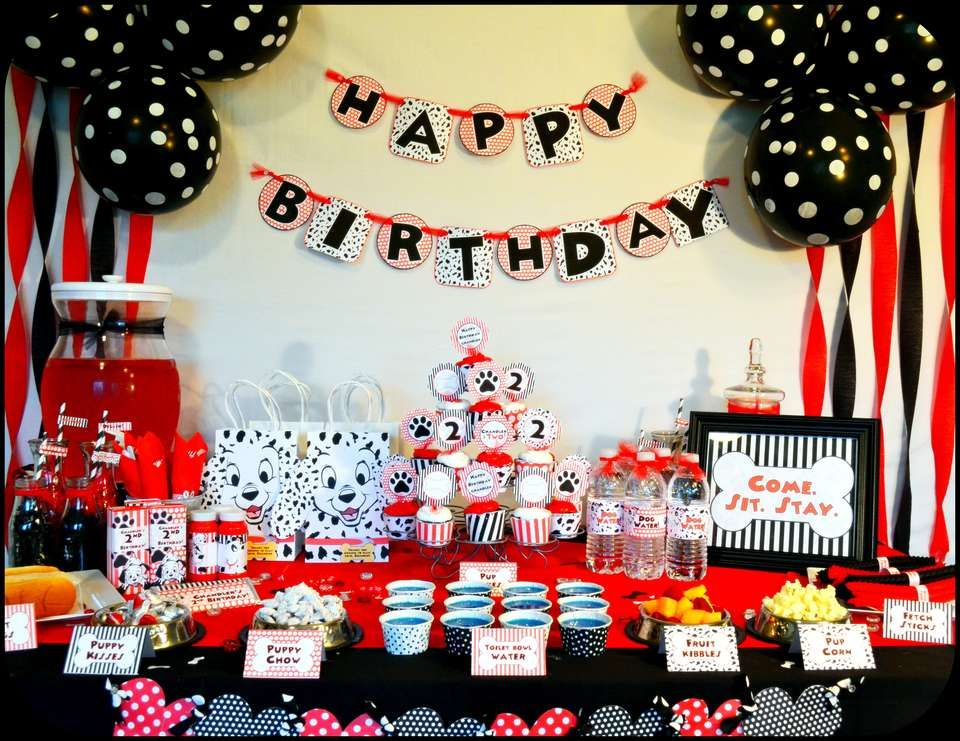 Dalmatian Party Puppy Party Paw Patrol Birthday Party