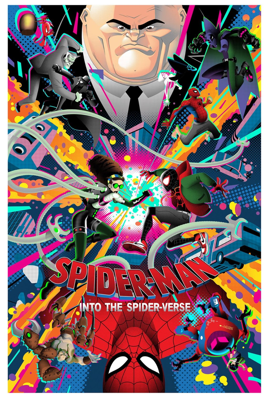 SPIDER 🕷 MAN • Into The SpiderVerse (With images