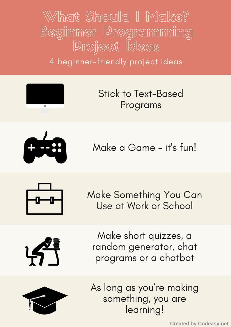 what should I make as a beginner programmer