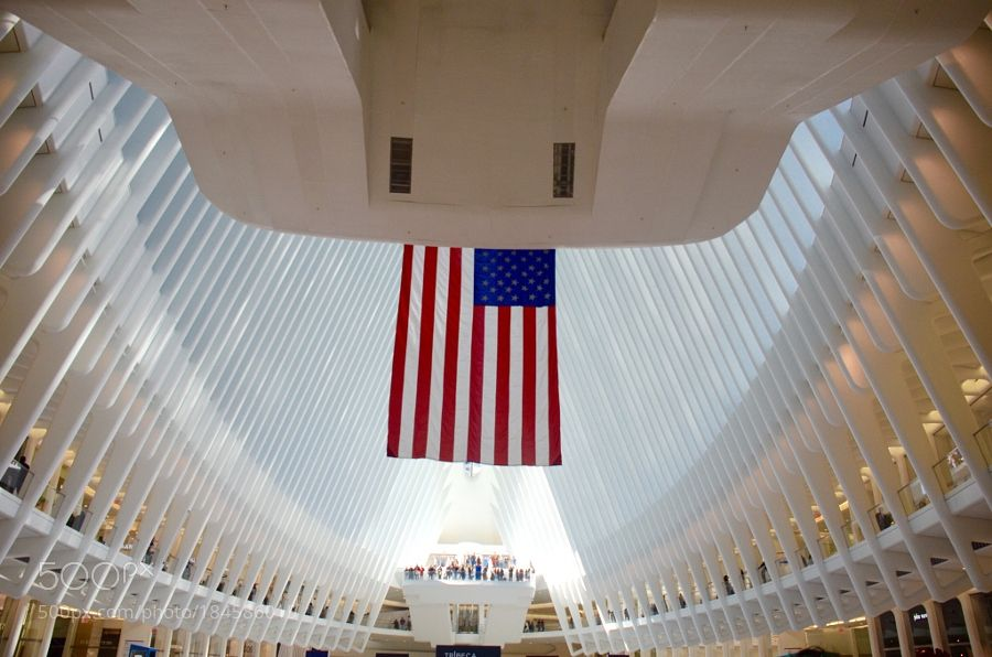 World Trade Center (Flag to memory) by JWilhemChef