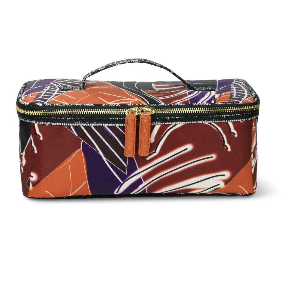 93ab76a5835a Sonia Kashuk Cosmetic Bag Large Train Case Artwork