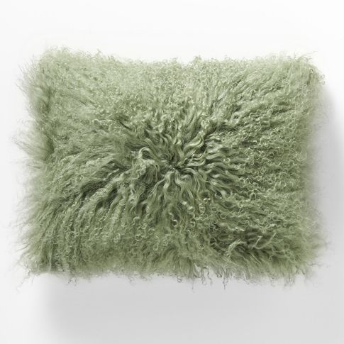 Mongolian Lamb Pillow Cover | west elm