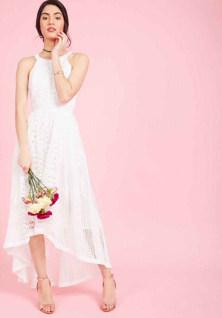 Harmonious Ceremony Maxi Dress in Ivory | the bride | Pinterest
