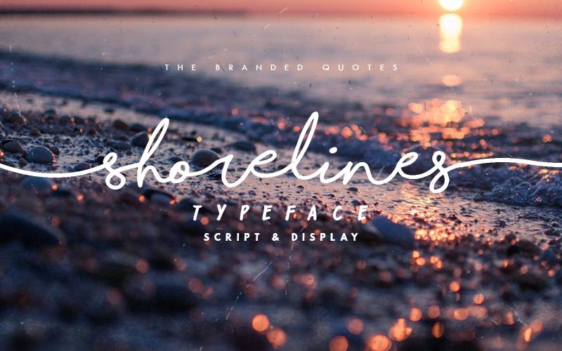 Shorelines Script Font Dafont Com Nice For Personal Projects
