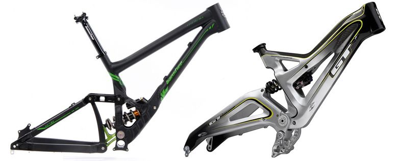downhill mountain bike frames for sale