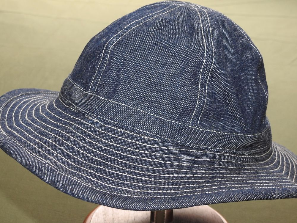 7a88196e8409d US Army WW2 DENIM DAISY MAE WORK HAT MINT Made In USA Repro Indigo Fatigue  Cap  fashion  collectibles  militaria  wwii193945 (ebay link)
