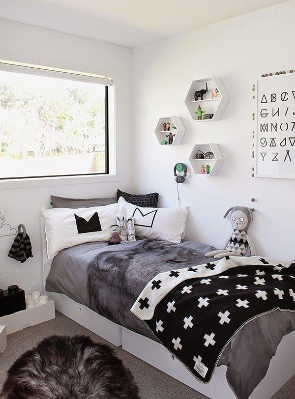 Ideas deco habitaciones infantiles de estilo n rdico para for Dormitorio infantil nordico