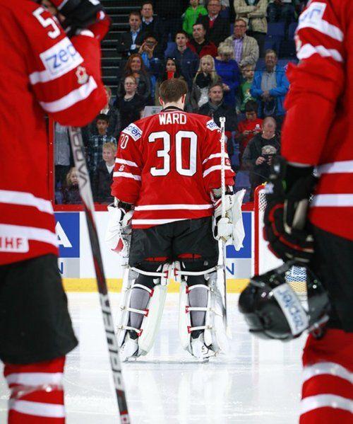 Cam Ward, Team Canada