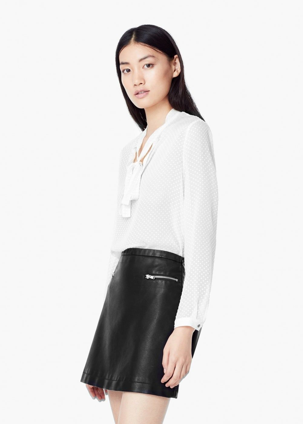 01d7c36d3 Blusa seda plumeti - Camisas de Mulher