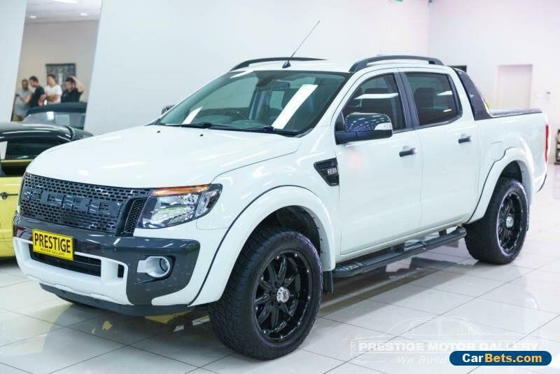 Car For Sale 2013 Ford Ranger Px Wildtrak 3 2 4x4 White Automatic 6sp A Utility In 2020 Ford Ranger Wildtrak Ford Ranger Cars For Sale