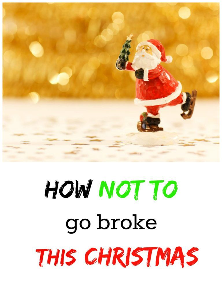 Save money this Christmas.8 tips on how not go broke this Christmas.Holidays can be hard if your budget is tight, but don't worry! It can be easier this year!