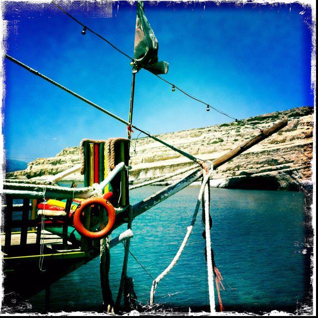 In Matala, Crete
