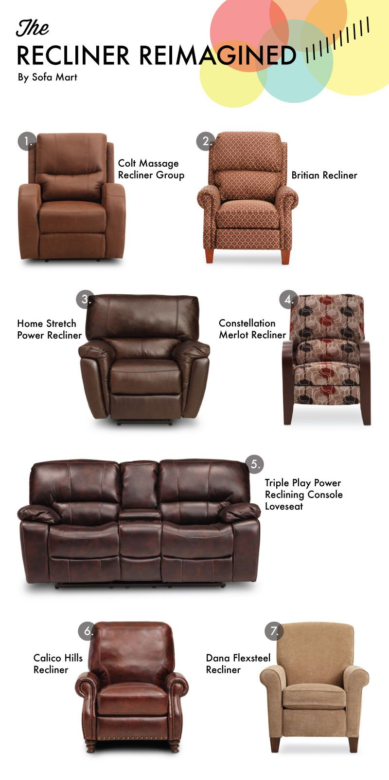 Sofa Sleeper Recliner Reimagined for Father us Day Sofa Mart for The