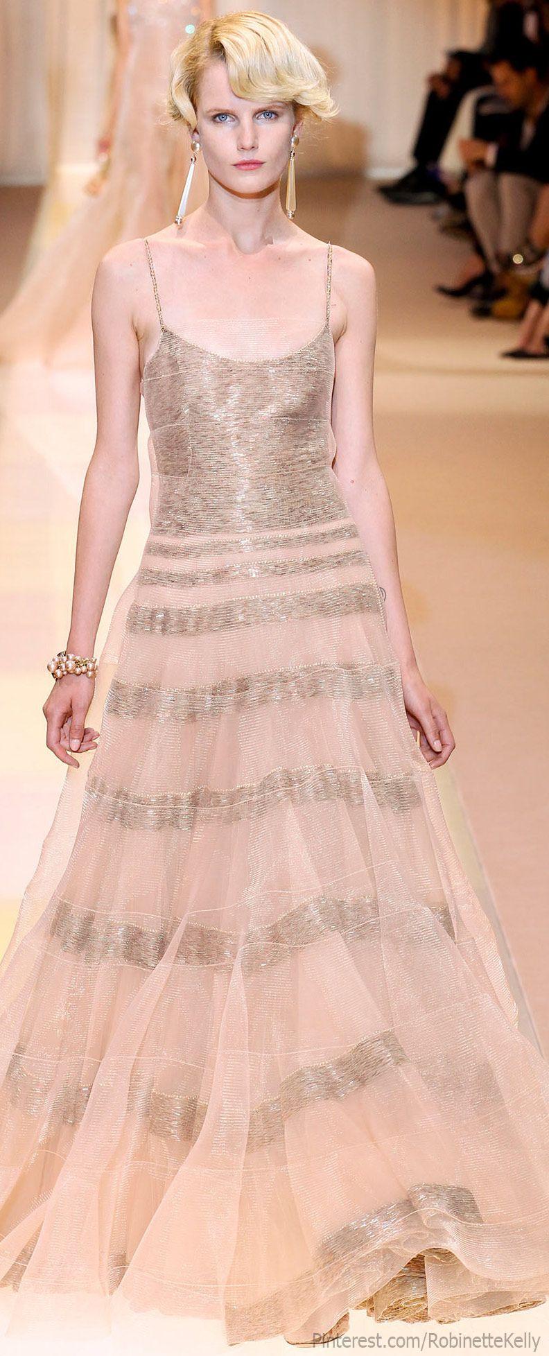 Armani Privé Haute Couture   F/W 2013   B & D dress!!!   Pinterest ...