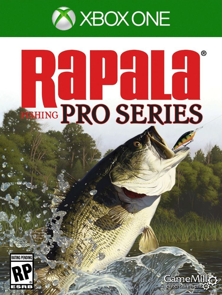 Rapala Pro Fishing Xbox One Standard Edition New Xbox