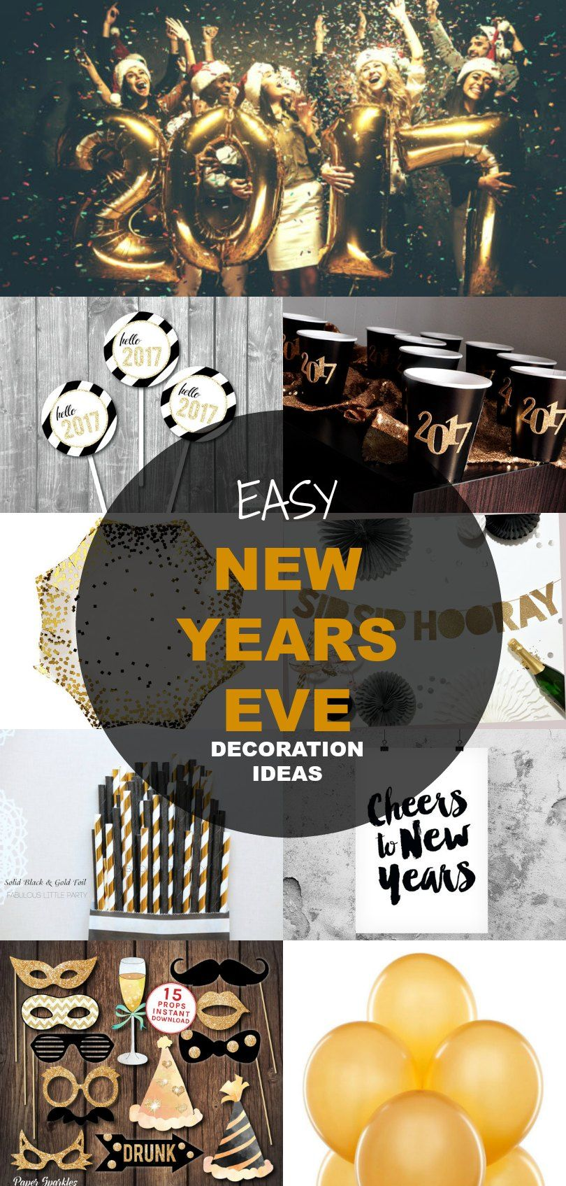 21 New Years Eve Decoration Ideas New years eve