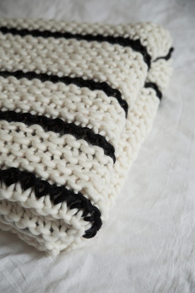 How to knit a blanket | WATG Blog | Ai ferri | Pinterest | Crochet ...